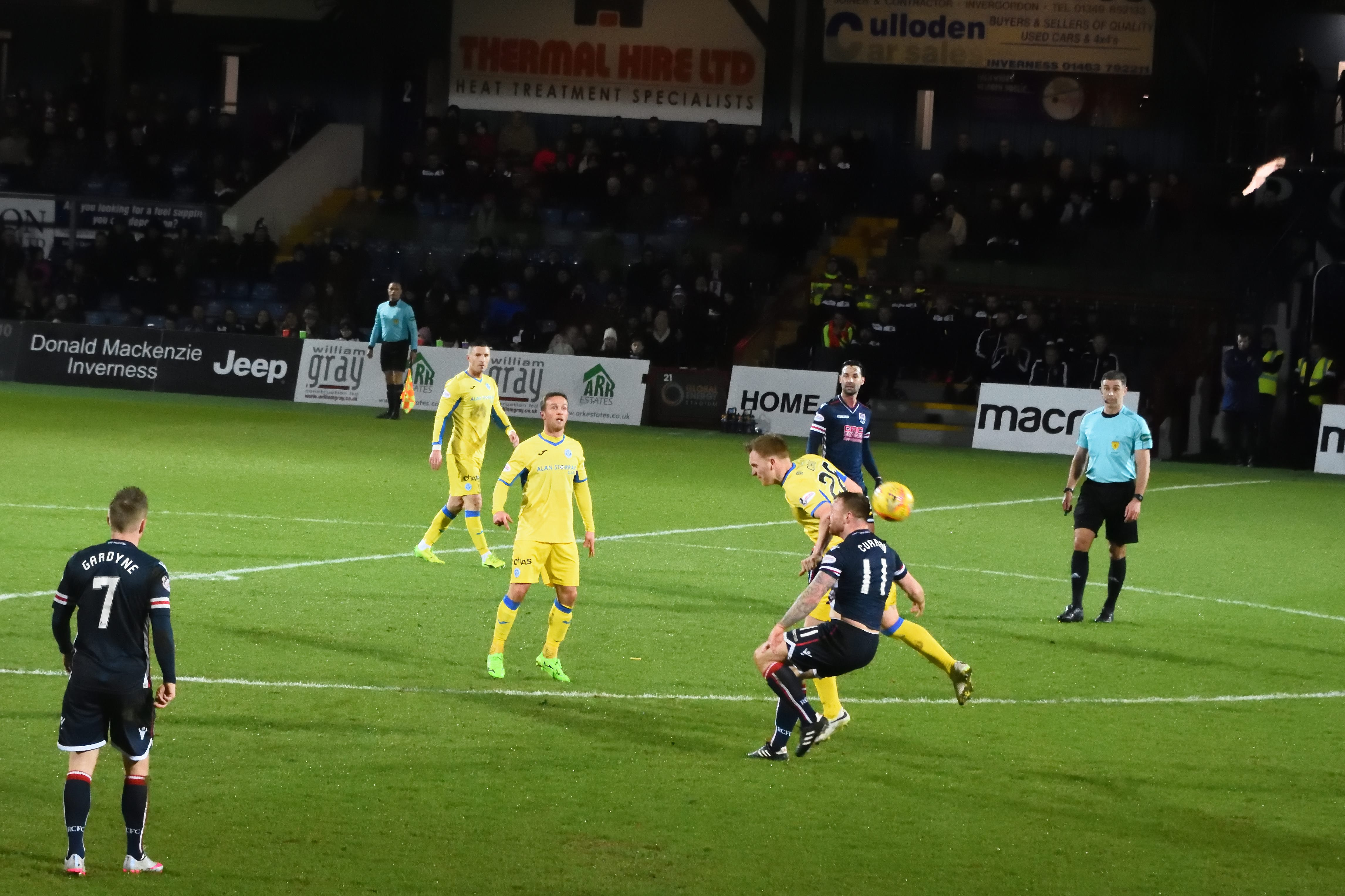 Football Nation 32/55 - Scotland - Ross County 1-1 St Johnstone