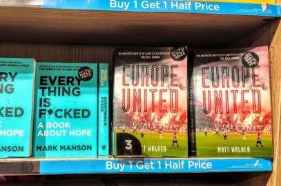 "Europe United one of ""18 best football books of 2019"" (FourFourTwo)"