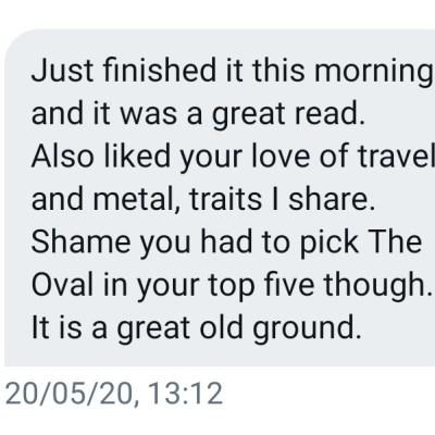 Twitter feedback
