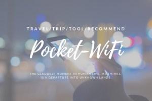 【結論】海外旅行でレンタルしたいオススメのwifiルーターは無い【SIMフリーにすべき】