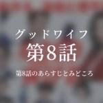 グッドワイフ|8話ドラマ動画無料視聴はこちら【3/3放送】