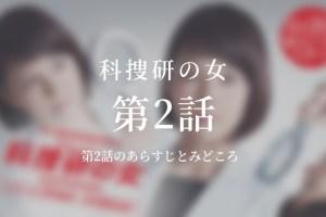 科捜研の女 2話ドラマ動画無料視聴はこちら【4月25日放送】