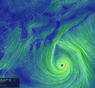 台風15号 進撃の巨大台風