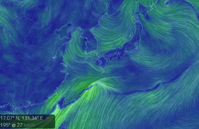 台風6号 とりあえずわかること 大雨