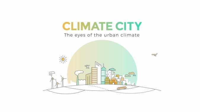 Climate City - Vidéo de vulgarisation scientifique et technique - The eyes of the urban climate
