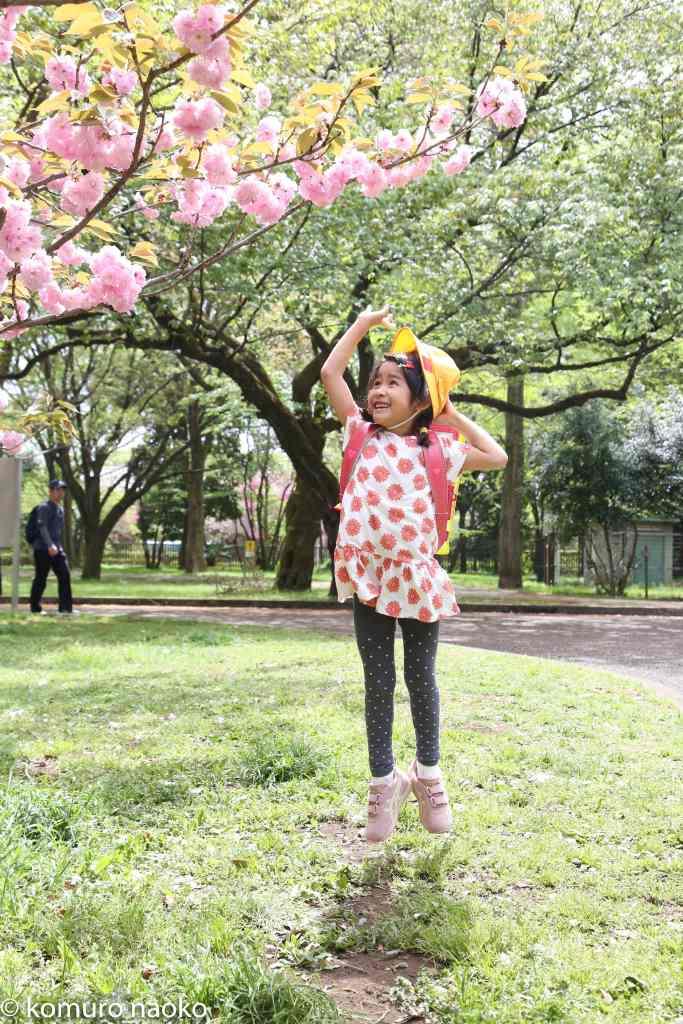 小金井公園家族写真一年生