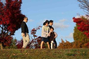 諏訪湖家族写真