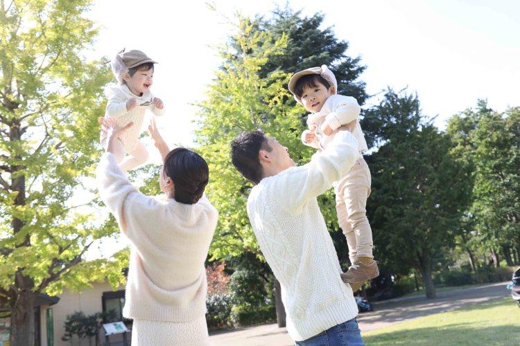 家族写真武蔵国分寺公園
