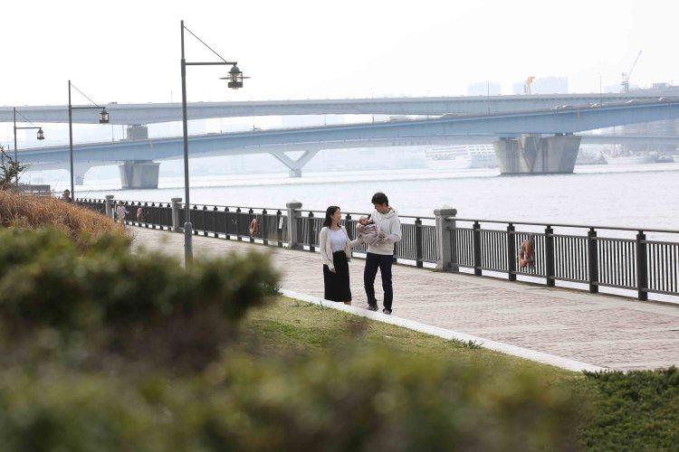 春海橋公園こむの木家族写真
