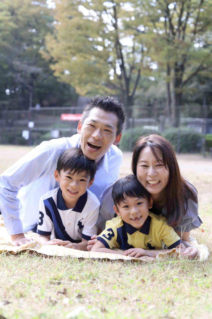 家族写真撮影会千葉公園