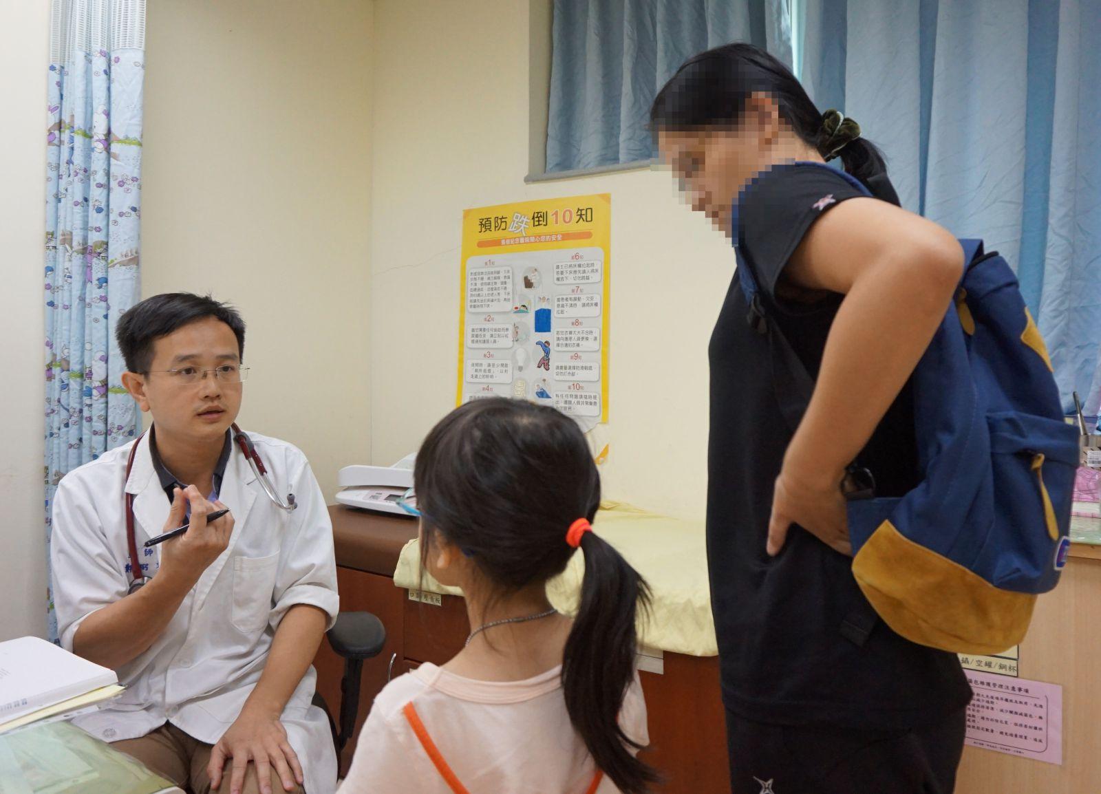 上圖:新竹馬偕醫院小兒內分泌科鄭弼文醫師