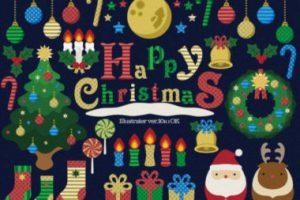 無料イラストでクリスマスを