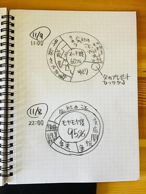 脳地図日記の実例