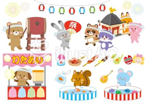 かわいい動物夏祭り