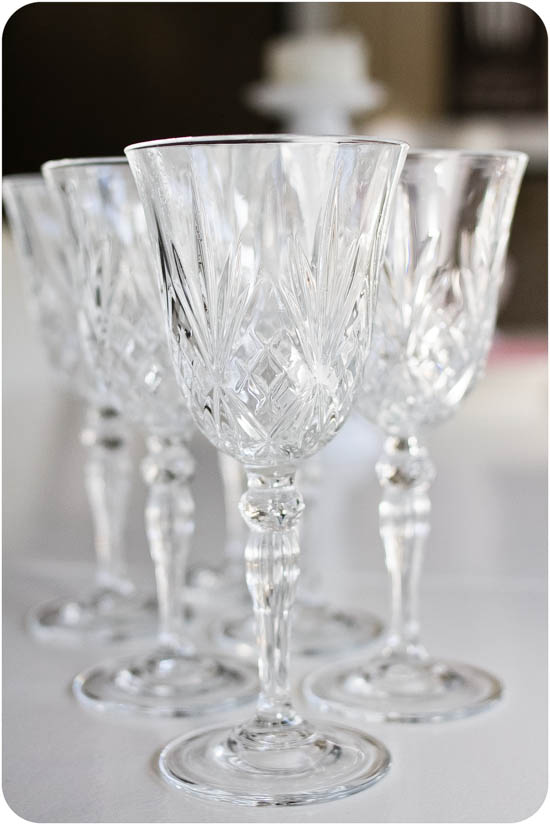 Mina nya fina glas från Zara Home!