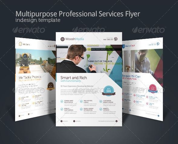 Fantastic InDesign Flyer Templates  56pixelscom