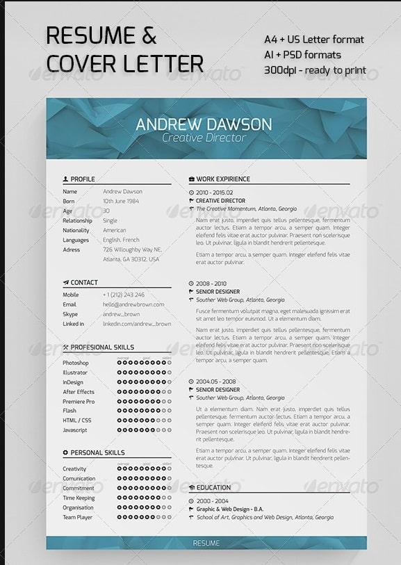 resume 2014 templates