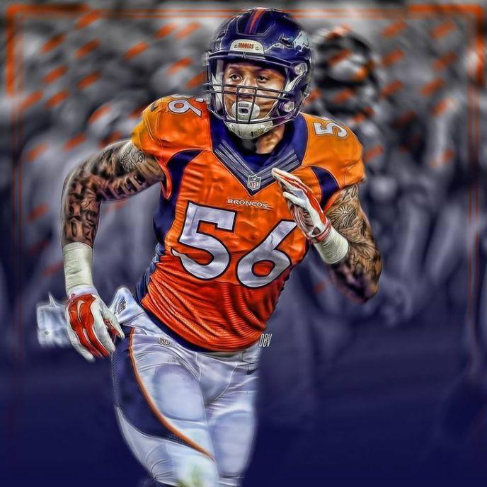 #56 Shane Ray, Denver Broncos Artography