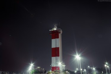 No coastal city without a lighthouse!