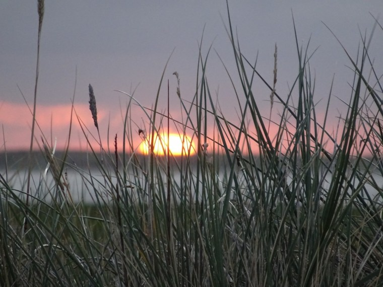Sonnenaufgang am Sylter Ellenbogen