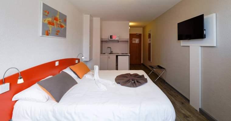 史特拉斯堡住宿|離車站近、空間大的城市公寓式酒店