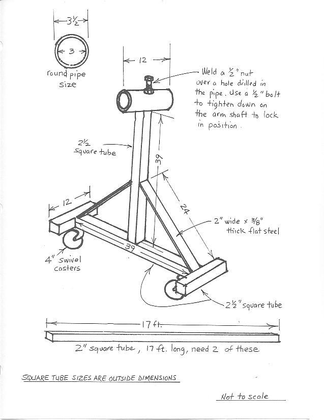 famous homemade car rotisserie plans