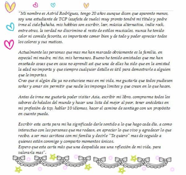 Cartas despedida  Imagui