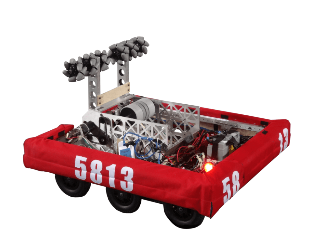 medium resolution of goatnado is 5813 s robot for the 2016 first stronghold challenge this season was a big success for 5813 we were semifinalists at the wpi and unh district