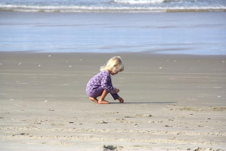 58GradNord - Elternzeit in Neuseeland - Muschelsuche