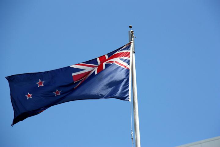 58GradNord - Elternzeit in Neuseeland - NZ Flagge