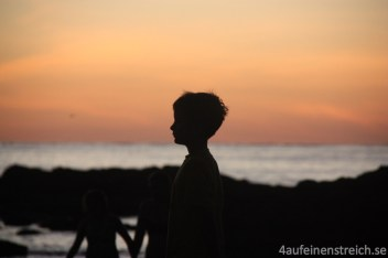 Sonnenuntergang an der Playa Carillo