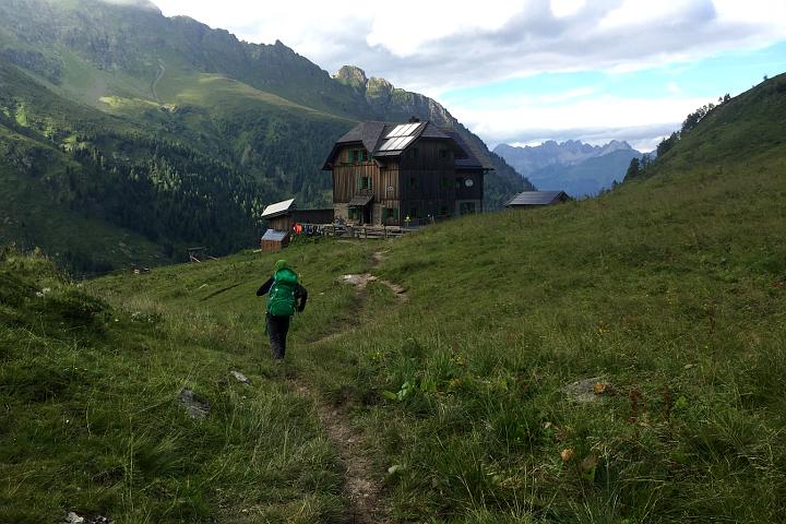 58GradNord - Karnischer Höhenweg - Endspurt zum Hochweißsteinhaus