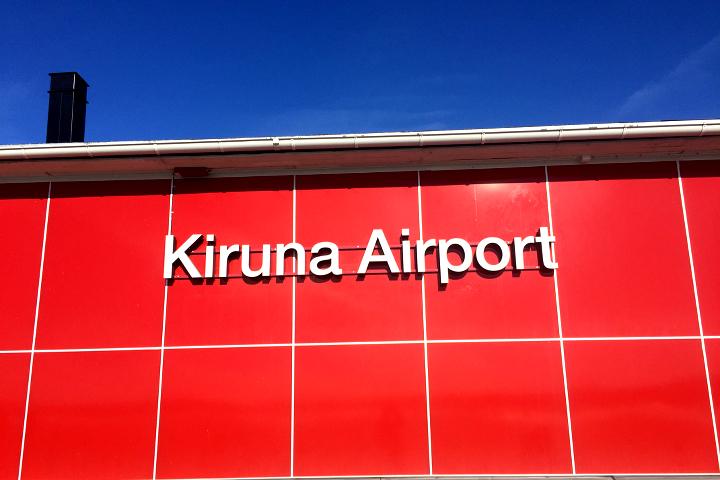 58 Grad Nord - Kungsleden im Winter - Kiruna Airport