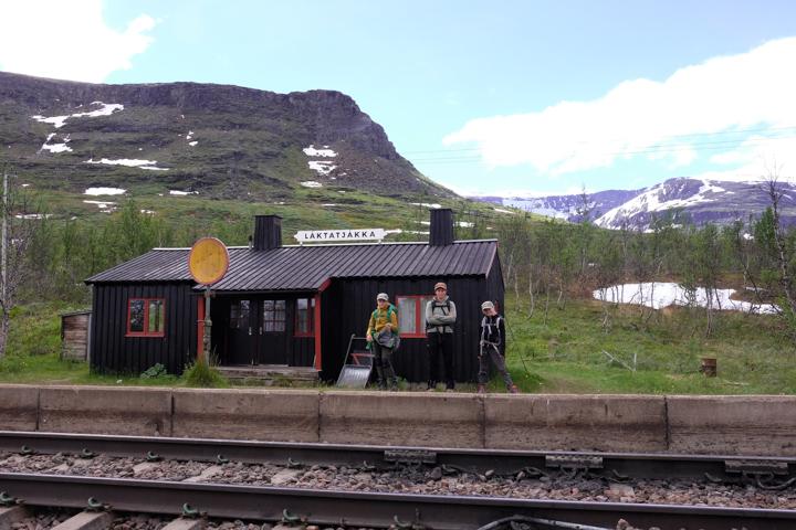58GradNord - Trollsjö in Ärkevagga - Bahnstation Låktatjåkka