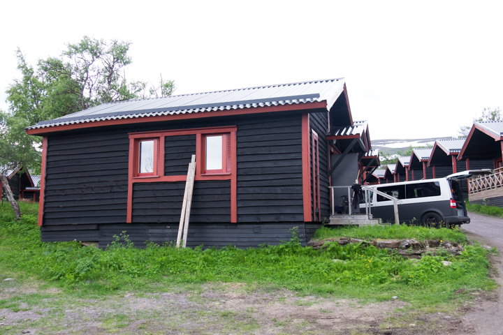 58GradNord - Kärkevagga in Schwedisch Lappland - Hütte Björkliden
