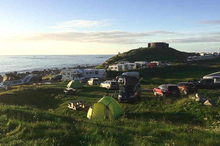 Norwegen mit Kindern - Lofoten Roadtrip - Eggum Campingplatz