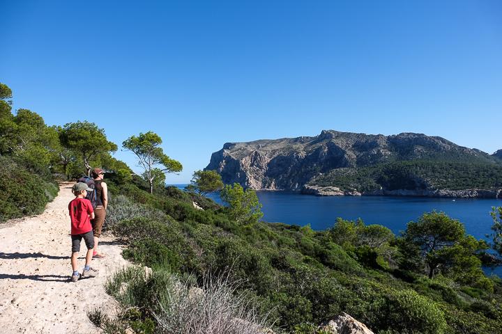 58 Grad Nord - Mallorca mit Kindern - Sa Dragonera - Aussicht auf Mallorca