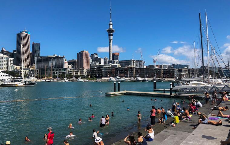 58 Grad Nord - Kiwi-Tagebuch - Downtown Auckland