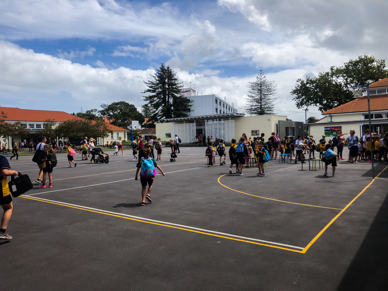 58 Grad Nord - Kiwi-Tagebuch - Parnell District School Auckland