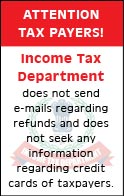 Income tax department india
