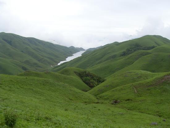 hilly landscape nature