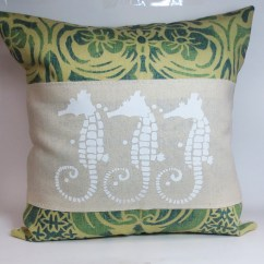 Beach Themed Sofa Pillows Shaker Table Plans Decorative Throw Pillow Cushion Cover With Screen Print