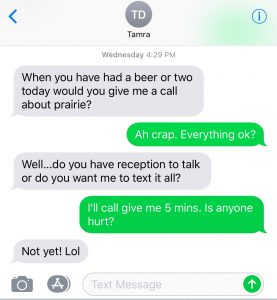 Text Screenshot 5am joel