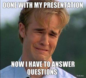 nervous qbr presenter