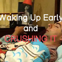 wake up early tips