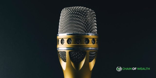 5am podcast chain of wealth microphone