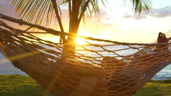 couple on hammock