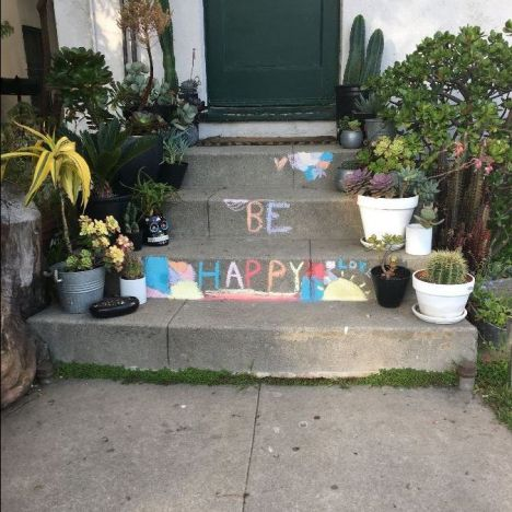be happy chalk