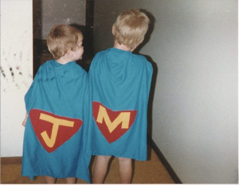 homemade superman capes