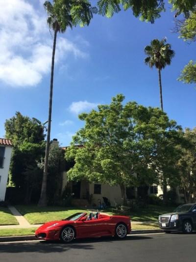 Ferrari parks right in my driveway